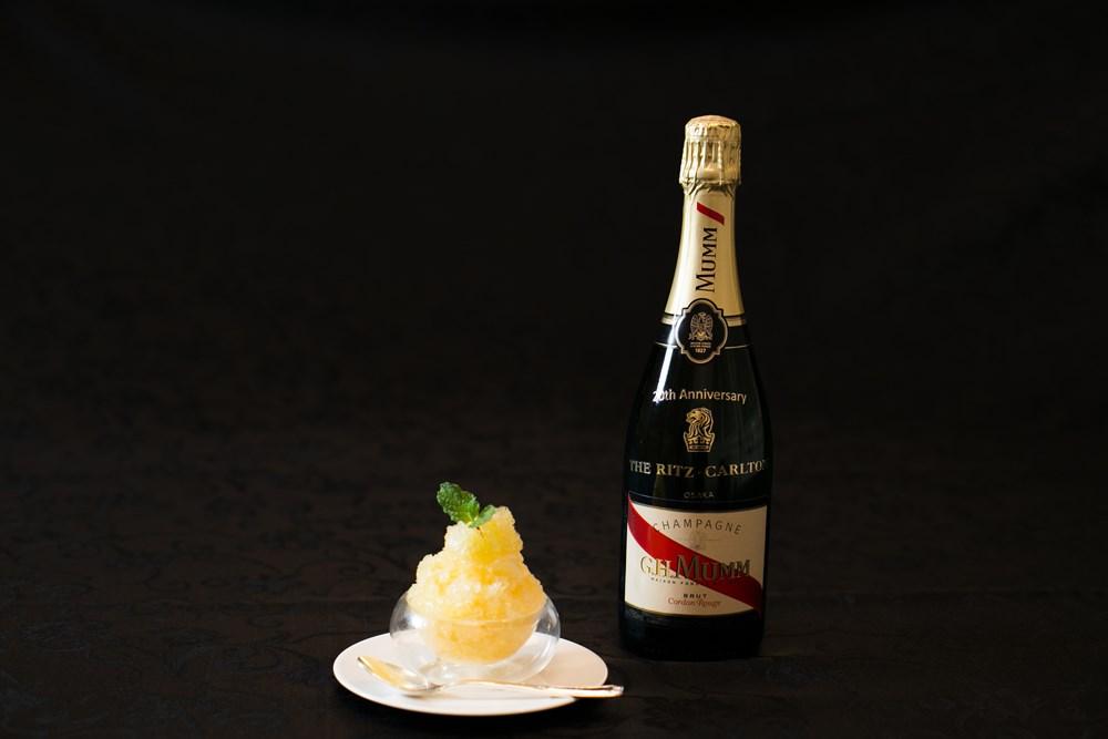 シャンパン・かき氷
