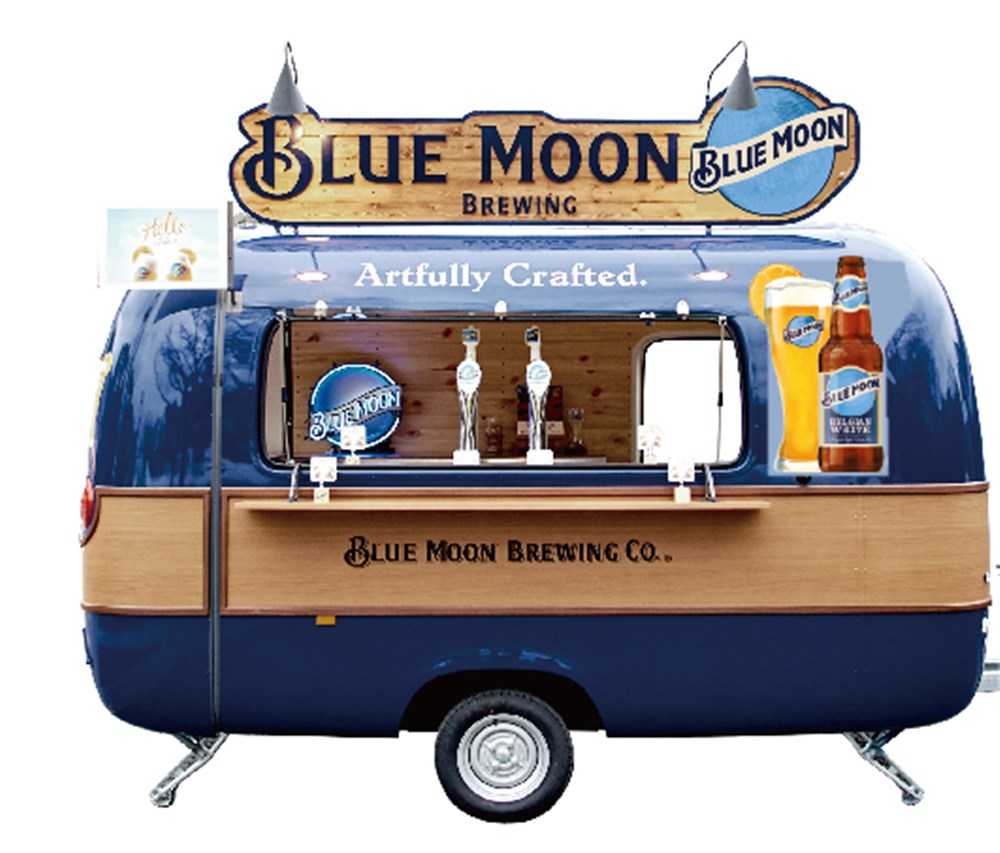 Blue Moon Kitchen Car