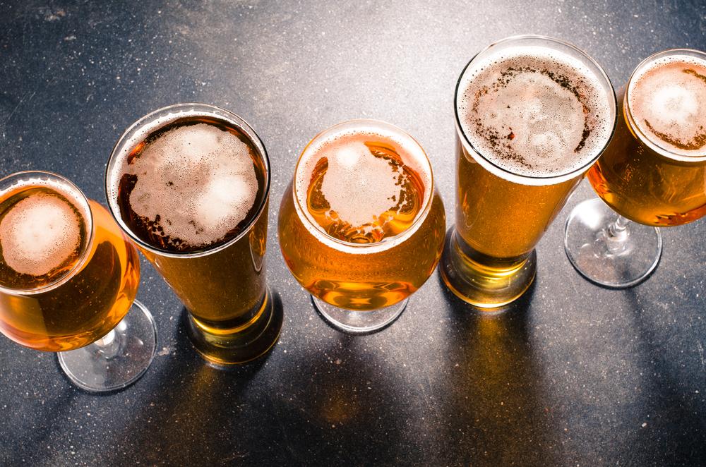 さまざまなビールグラス