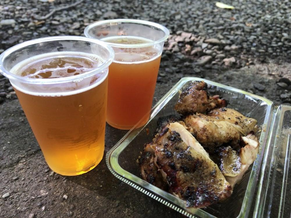 むさし府中ビール祭り AQ BEVOLUTIONのCITRA-HERO IPA、Damiate DRIPA
