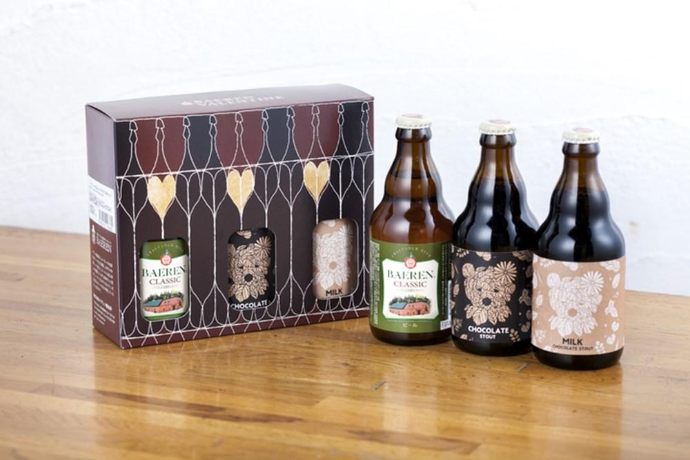 バレンタインデー 英国スタイル・チョコレートビール