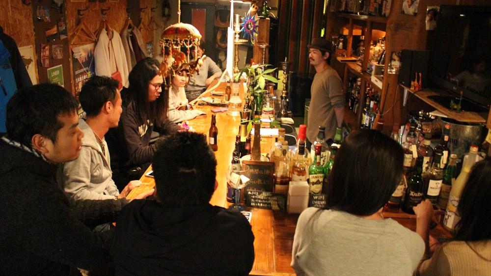 CAFE&BAR 旅人の家