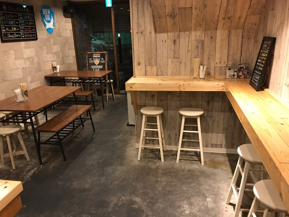 Craft Beer Spot Hathor 内装