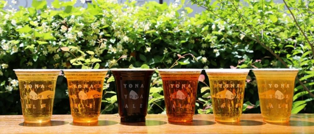 YONA YONA BEER GARDEN in ARK Hills ビール
