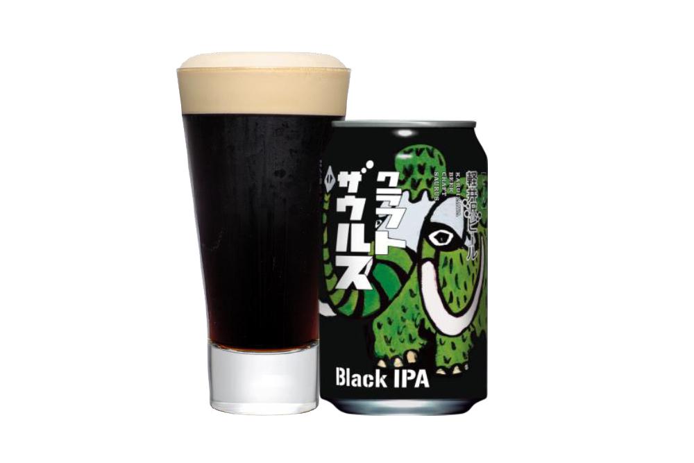 軽井沢ビール クラフトザウルス ブラックIPA