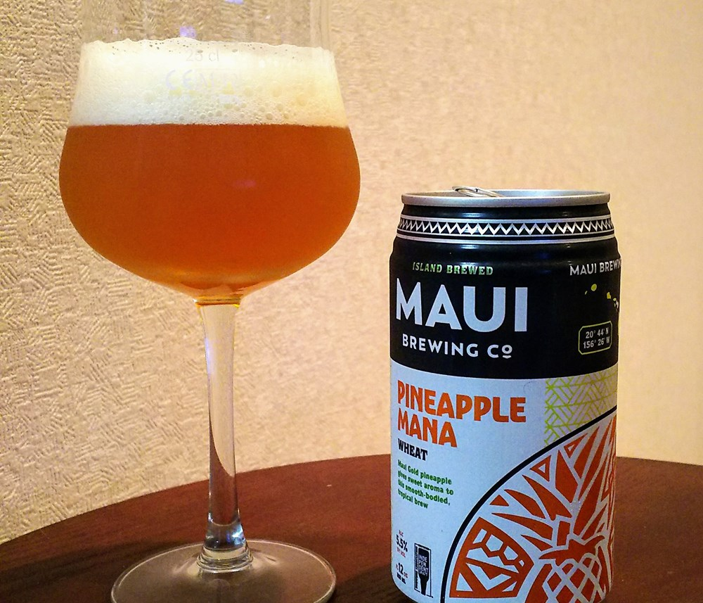 Pineapple Mana Wheat / Maui Brewing Company