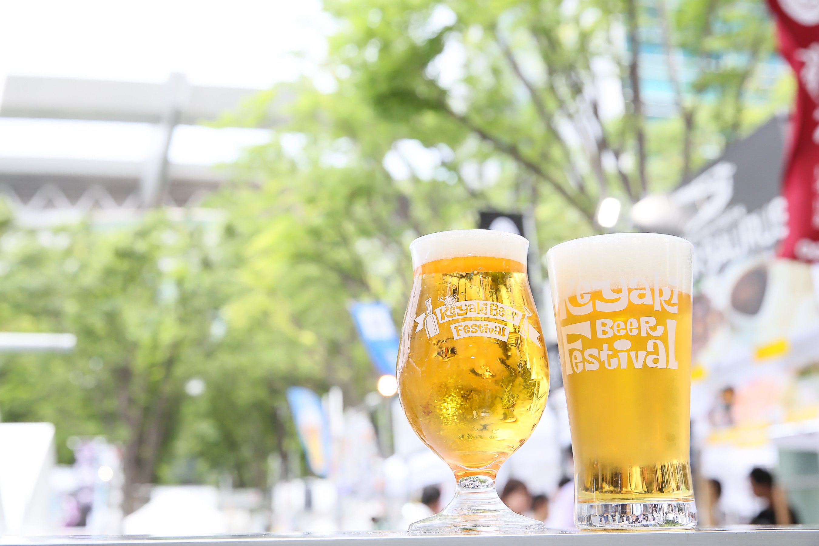 けやきひろば 春のビール祭り 2019