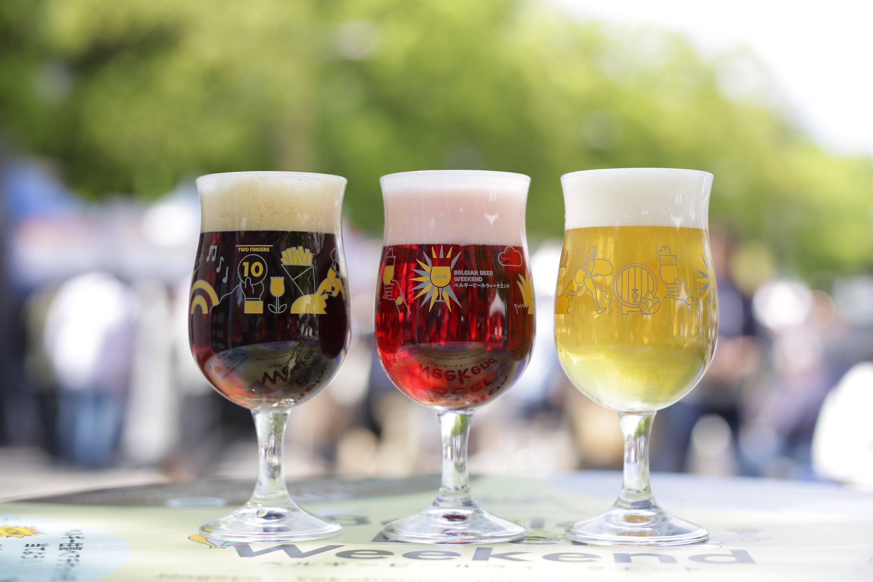 ベルギービールウィークエンド2019 日比谷