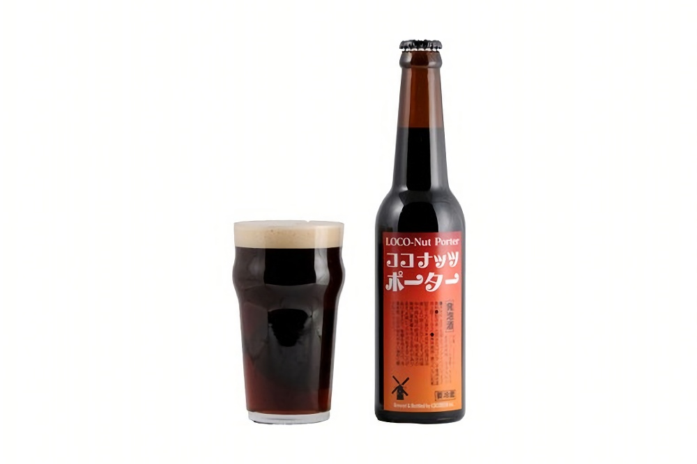 ロコビア、バレンタインに向けてココナッツ風味の黒ビール「ココナッツポーター」1月17日発売 画像