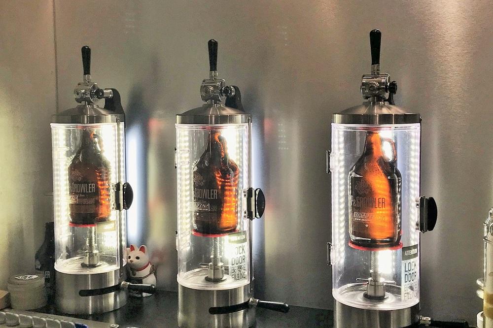 ビールの瓶詰め機