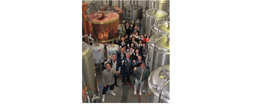 いわて蔵ビールの醸造工場