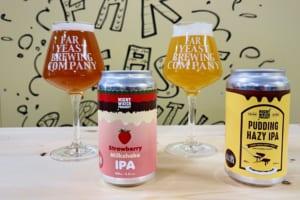 Far Yeast Brewing、「Strawberry Milkshake IPA」「Pudding Hazy IPA」の2種同時発売